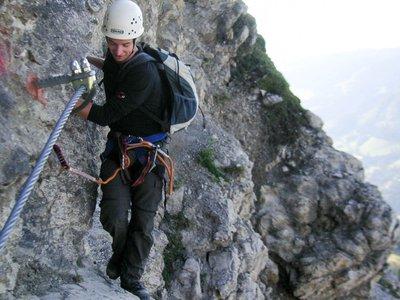 Klettersteig Salewa : Salewa klettersteig youtube