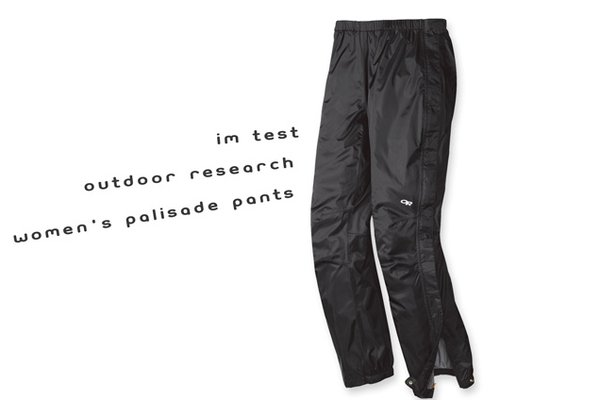 Im Test: Outdoor Research - Women's Palisade Pants - Hardshellhose