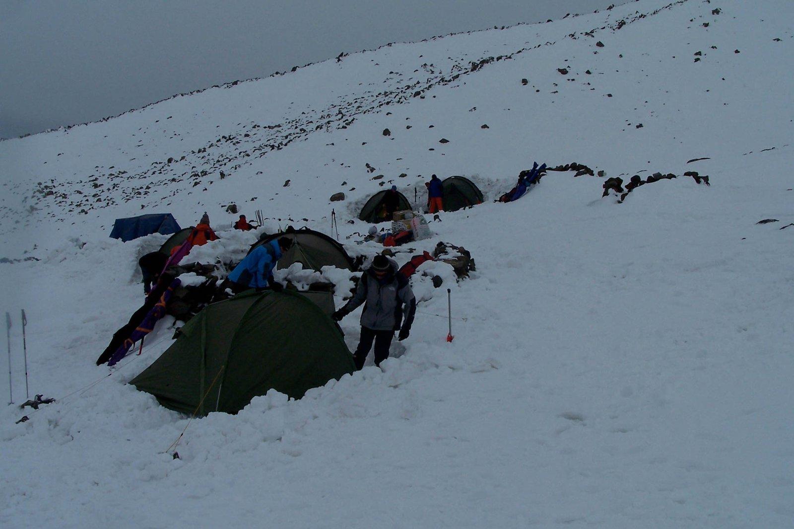 Mount Ararat Ski Tour